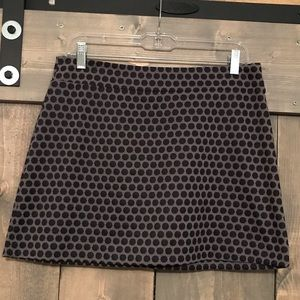 Gap polka dotted mini skirt